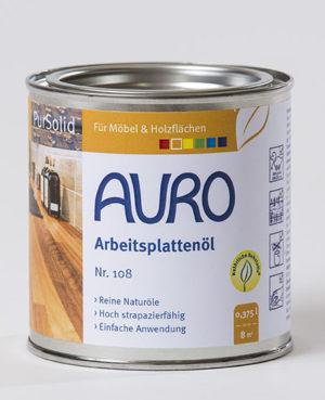 AURO Arbeitsplattenöl Nr. 108 0,375l