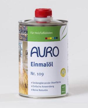 AURO Einmalöl Nr. 109 1 l