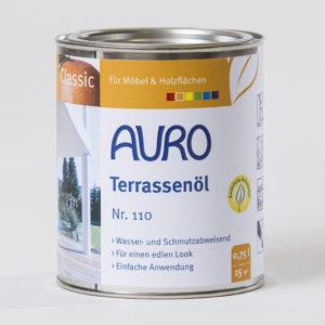 AURO Terrassenöl Nr. 110 0,75 l