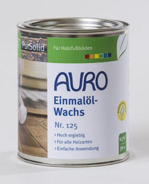 AURO Einmalöl-Wachs Nr. 125 0,75 l