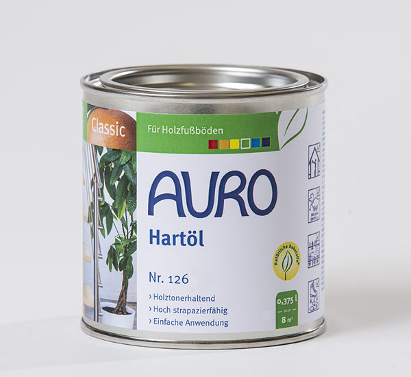 AURO Hartöl Nr. 126 0,375 l