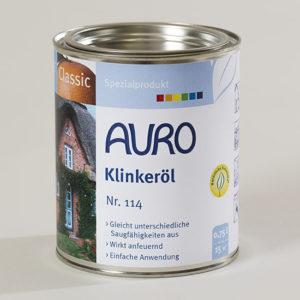 AURO Klinkeröl Nr. 114 0,75 l