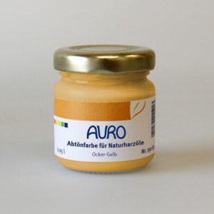 AURO Abtönfarbe für Naturharzöle Nr. 150-10 ocker-gelb 0,05 l