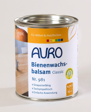 AURO Bienenwachsbalsam Nr. 981 0,75 l