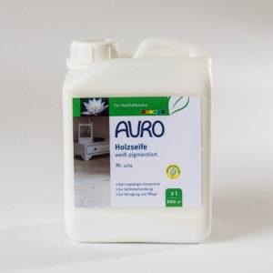 AURO Holzseife weiß pigmentiert Nr. 404 2 l