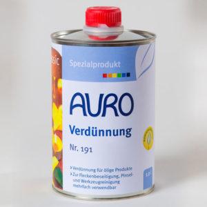 AURO Orangenöl Verdünnung Nr. 191 1 l