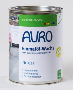Auro Einmalöl-Wachs, Nr. 825 (DIBt-zugelassen)