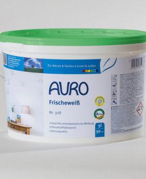 AURO Frischeweiß Nr. 328 5 l - Gesunde Naturfarben