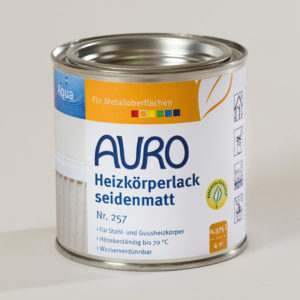AURO Heizkörperlack Nr. 257 0,375 l - Ökologische Naturfarben