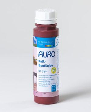 AURO Kalk-Buntfarbe Nr. 350-45 oxid-rot 0,25 l - Naturfarben