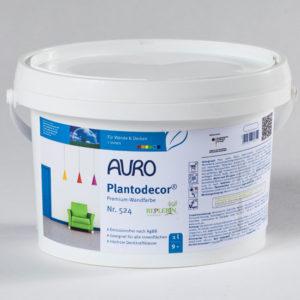 AURO Plantodecor Wandfarbe Nr. 524 1 l - Naturfarben