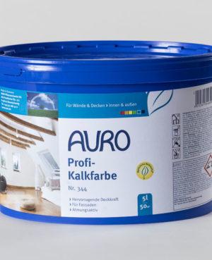 AURO Profi-Kalkfarbe Nr. 344 5 l - Naturfarben