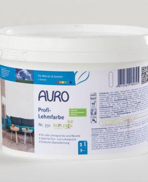 AURO Profi-Lehmfarbe Nr. 331 1 l - ökologische Naturfarben