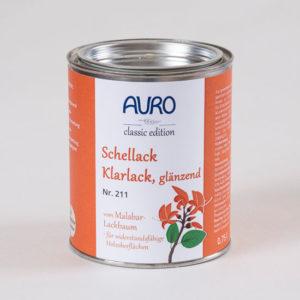 AURO Schellack Klarlack glänzend Nr. 211 0,75 l - Spezialprodukte