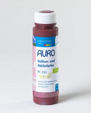 AURO Vollton- und Abtönfarbe Nr. 330-30 Persisch-Rot 0,25 l - Naturfarben