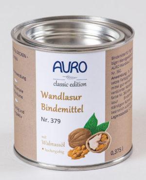AURO Wandlasur-Bindemittel Nr. 379 0,375 l - Naturfarben