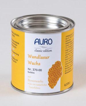 AURO Wandlasur Wachs Nr. 370-00 farblos 0,375 l