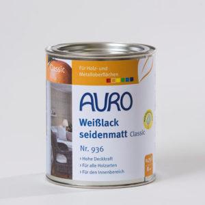 AURO Weißlack seidenmatt classic Nr. 936 0,75 l