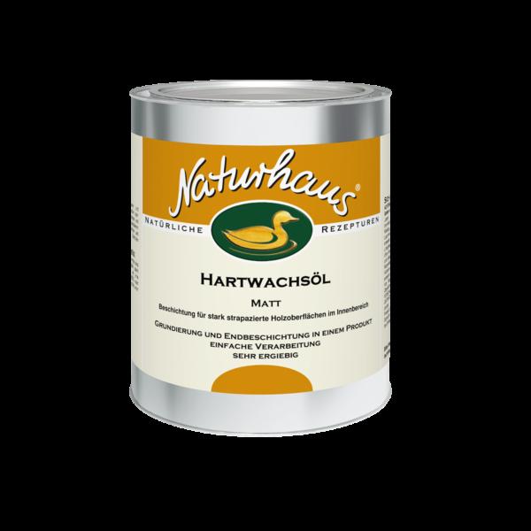 Naturhaus Hartwachsöl Matt 0,75 l