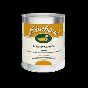 Naturhaus Hartwachsöl Weiß 750 ml